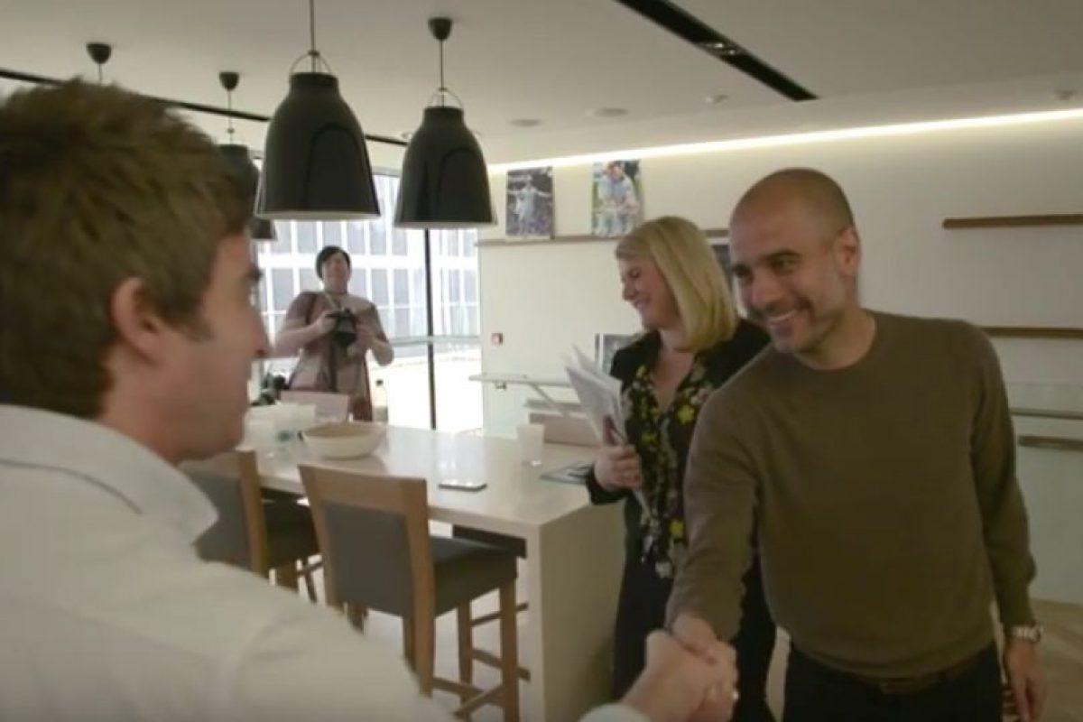 Incluso, Pep le jugó una broma Foto:Manchester City. Imagen Por: