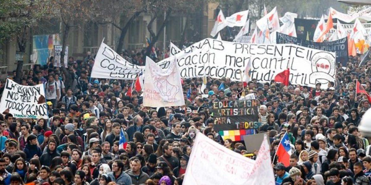 """Vocero Confech: """"La forma en que nos estamos movilizando provoca el rechazo en la ciudadanía"""""""