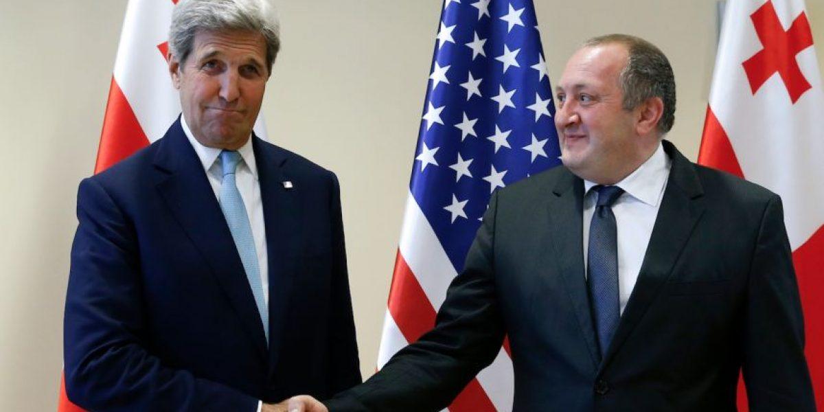 Estados Unidos firma con Georgia un acuerdo de colaboración en defensa