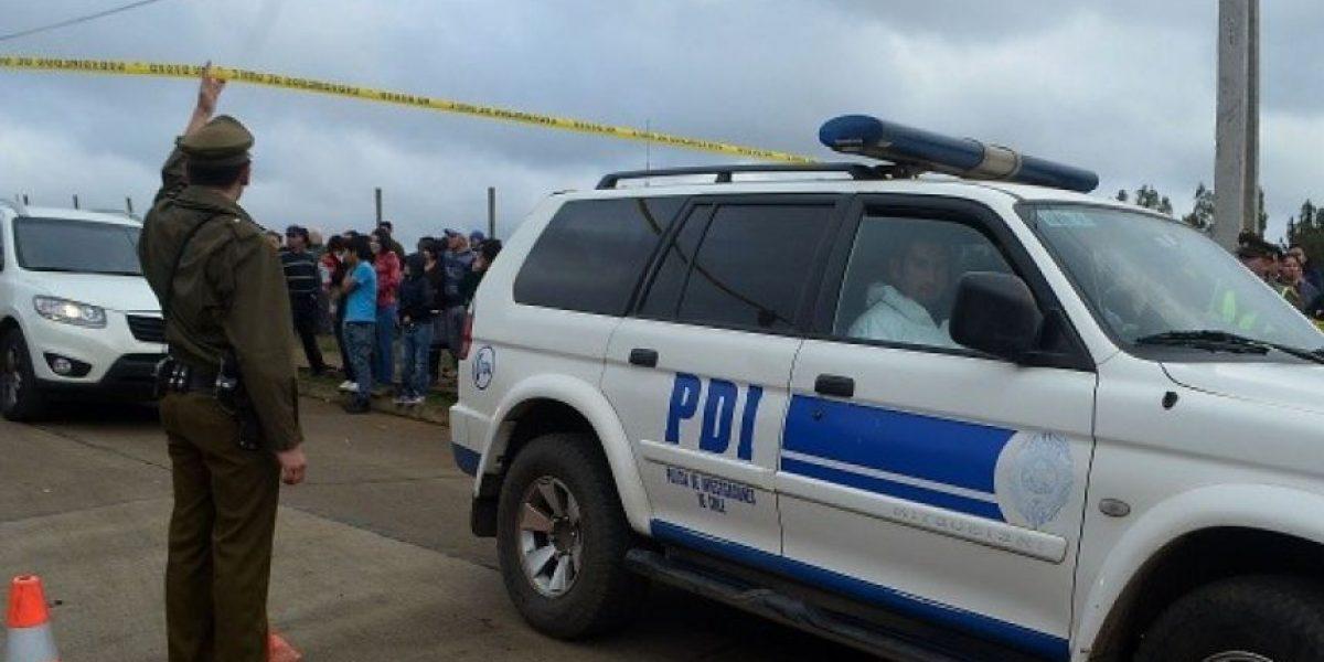 Descubren brutal crimen en Valparaíso: hombre es asesinado con más de 100 puñaladas