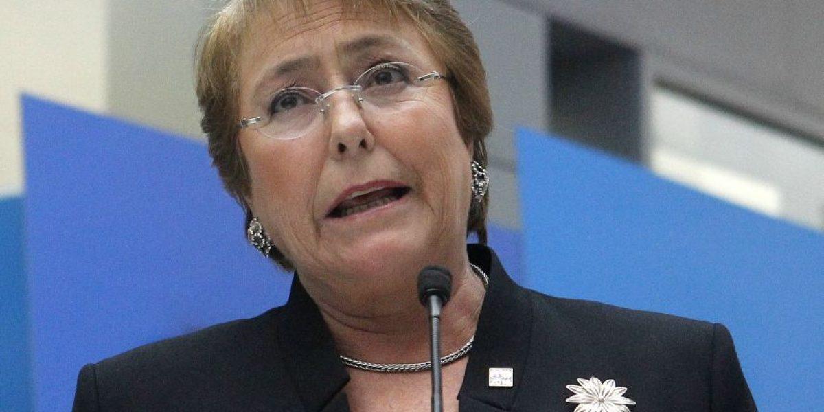 Adimark: aprobación de Bachelet cae en junio a 22%, el nivel más bajo de su Gobierno
