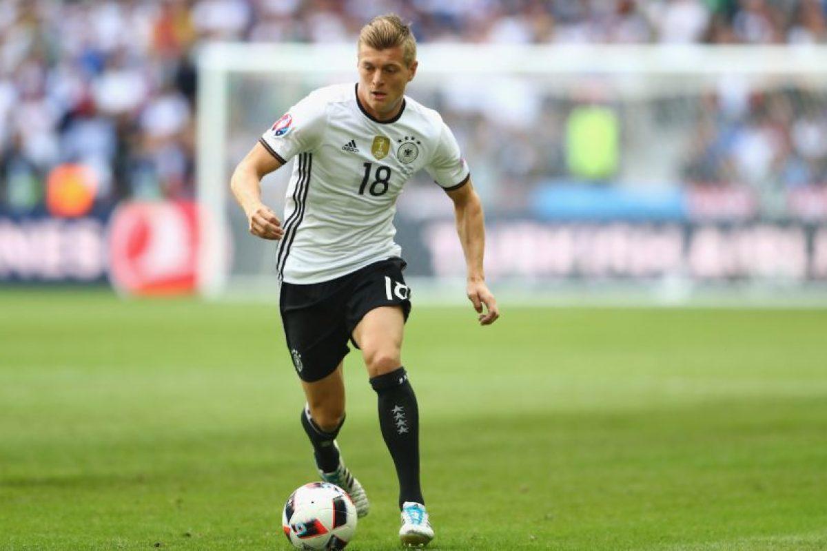 Toni Kroos enfrentará a Francia en la semis para buscar su cupo en el partido definitivo Foto:Getty Images. Imagen Por: