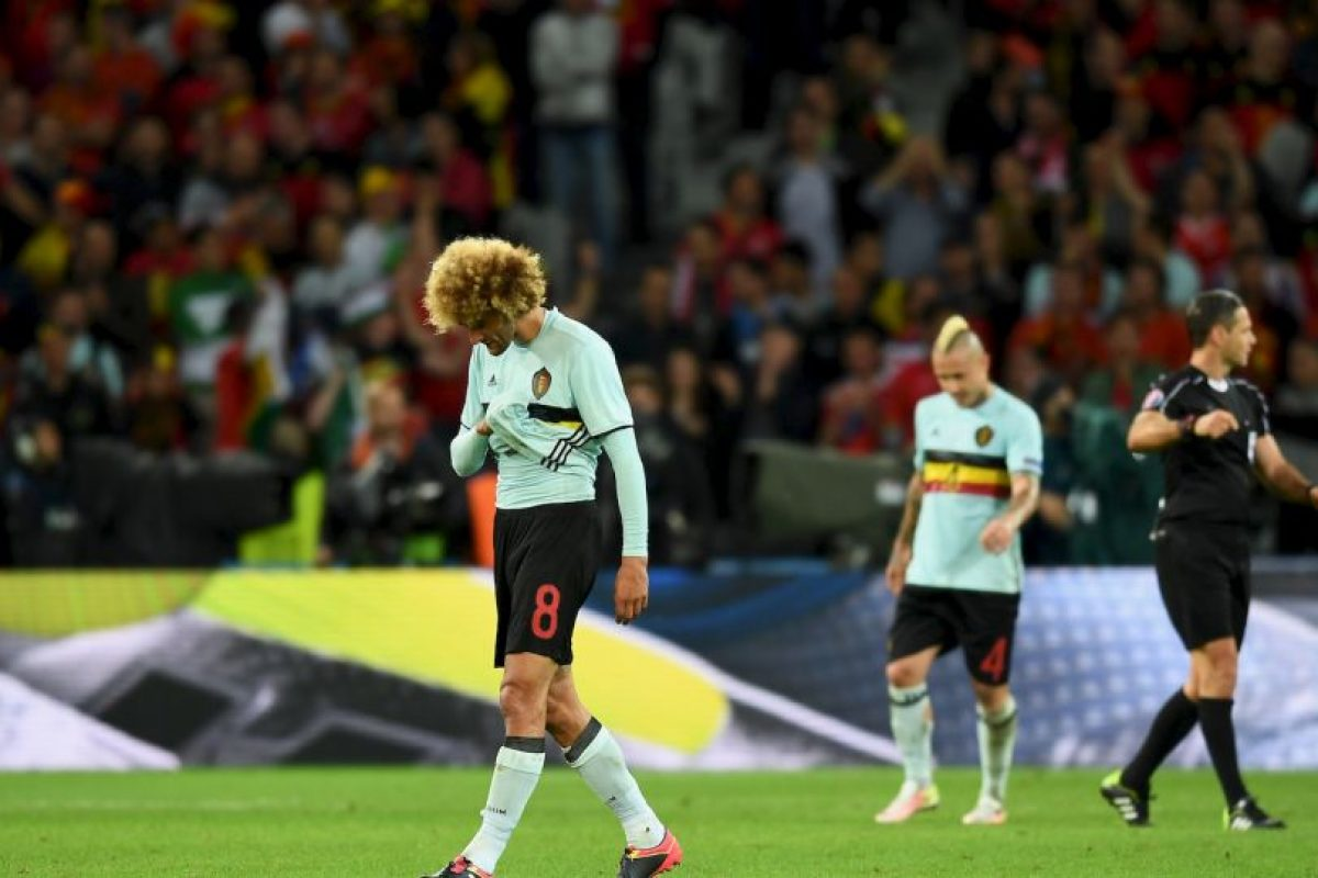Marouane Fellaini es un futbolista belga de 28 años Foto:Getty Images. Imagen Por: