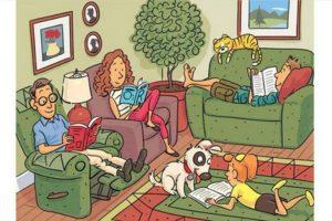 En esta imagen hay seis palabras en inglés que deben encontrar. Foto:Highlightskids.com. Imagen Por: