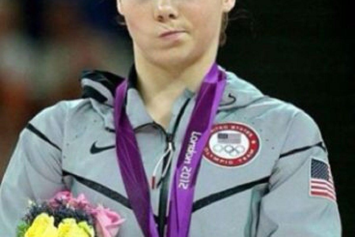 Se volvió viral por este gesto, durante los Juegos de Londres 2012 Foto:Vía instagram.com/mckaylamaroney. Imagen Por: