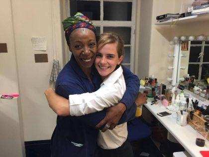 Emma Watson conoció a la actriz que interpreta a