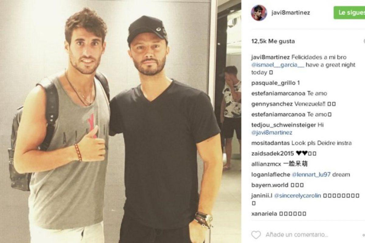 Javi Martínez (España) Foto:Instagram. Imagen Por: