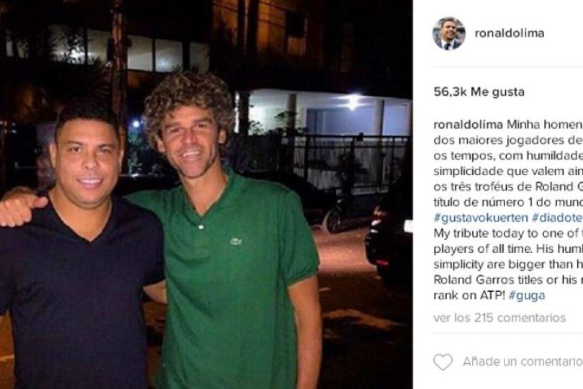Ronaldo Nazario Foto:Instagram. Imagen Por: