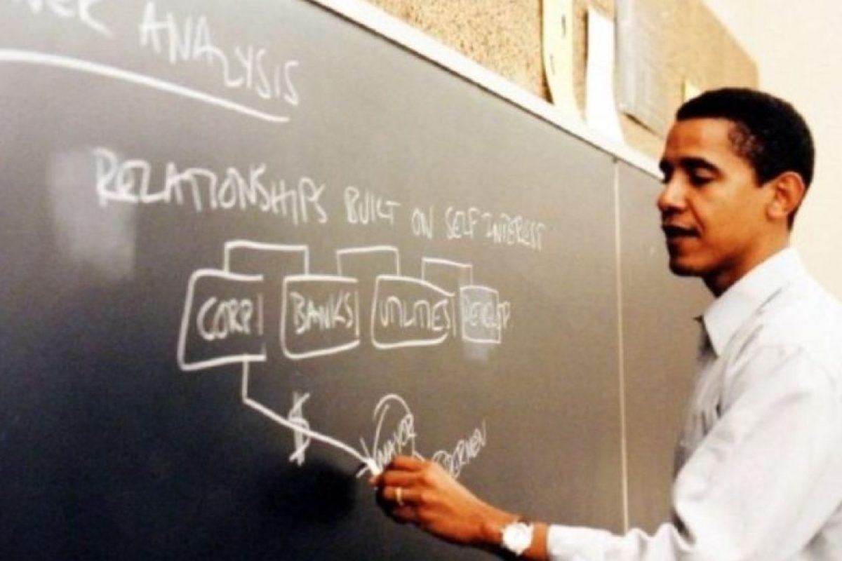 A finales de 1988 estudió Derecho en Harvard Foto:Facebook: Barack Obama. Imagen Por: