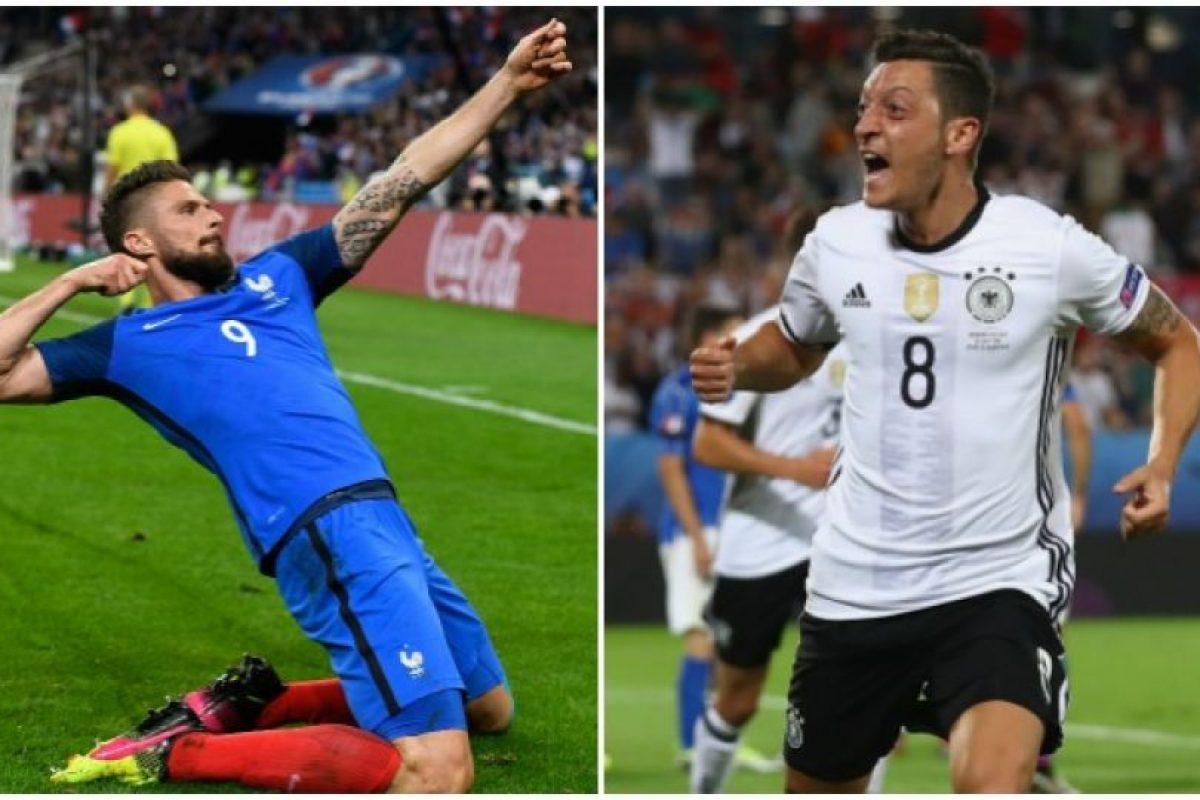 Francia y Alemania se miden por la semifinal de la Eurocopa Foto:Getty Images. Imagen Por: