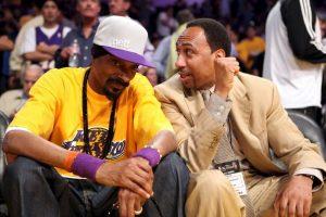 El rapero es un reconocido hincha de Los Angeles Lakers Foto:Getty Images. Imagen Por: