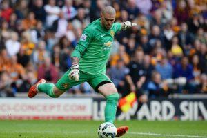 Luego de un paso para el olvido en Manchester United, el portero español encontró nuevo club Foto:Getty Images. Imagen Por: