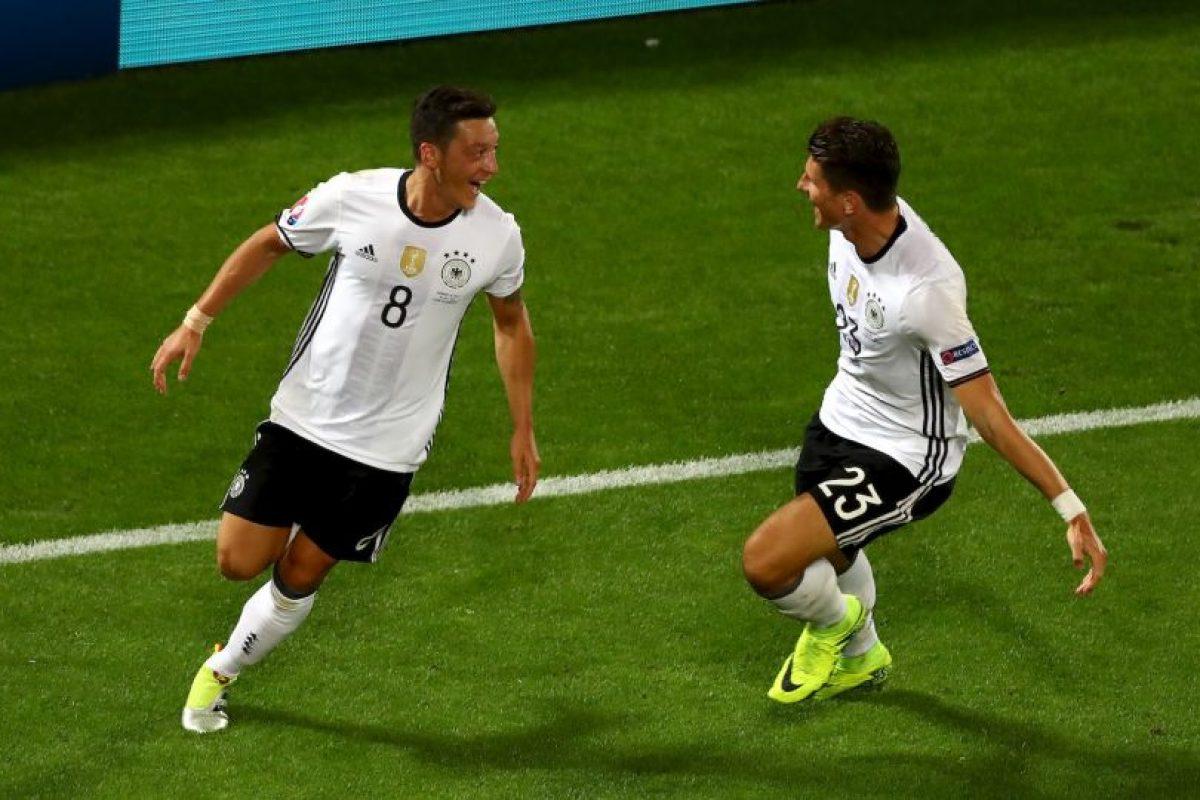 Alemania es candidata desde el inicio del torneo. Para avanzar a semifinales tuvo que sufrir una infartante definición a penales con Italia Foto:Getty Images. Imagen Por:
