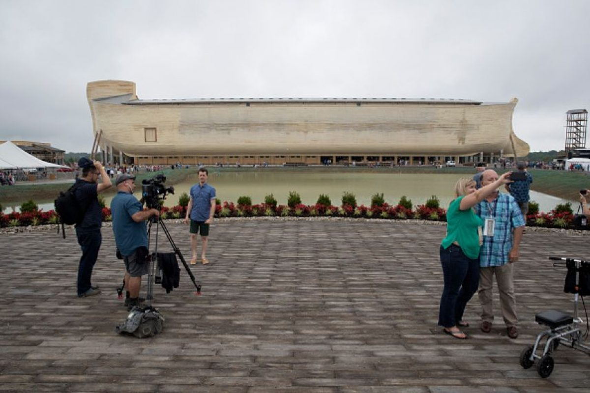 Sus constructores aseguran que son las medidas descritas en el Antiguo Testamento de la Biblia Foto:Getty Images. Imagen Por: