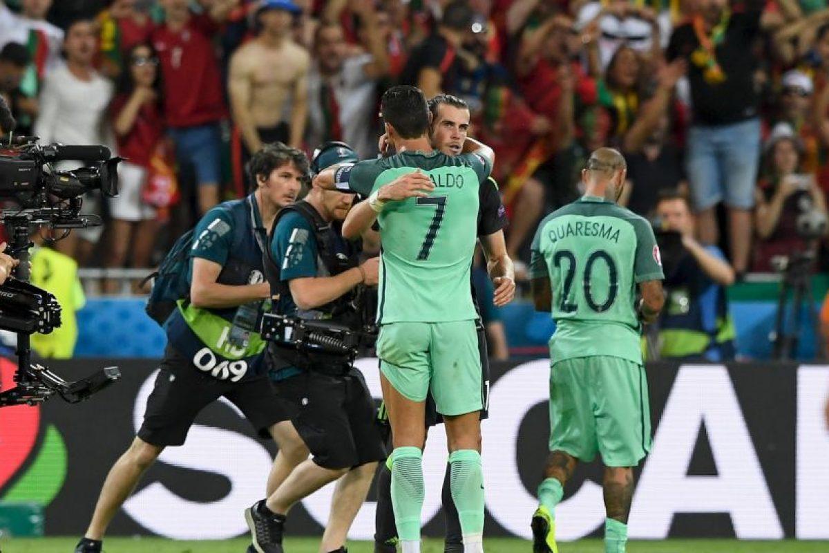 Cristiano Ronaldo le dijo que eran los grandes ganadores Foto:Getty Images. Imagen Por: