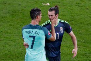 Cristiano Ronaldo y Gareth Bale demostraron su amistad Foto:Getty Images. Imagen Por: