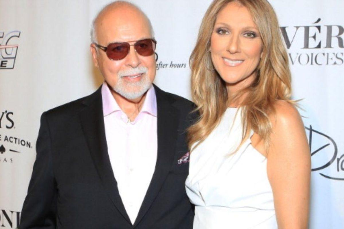 Años después, junto con su marido, René Angelil. Foto:vía Getty Images. Imagen Por: