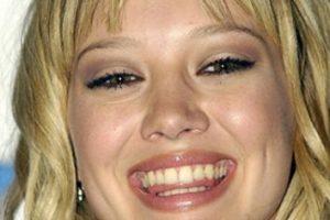 Hilary Duff ya era figura adolescente cuando le tomaron esta foto. Foto:vía Getty Images. Imagen Por: