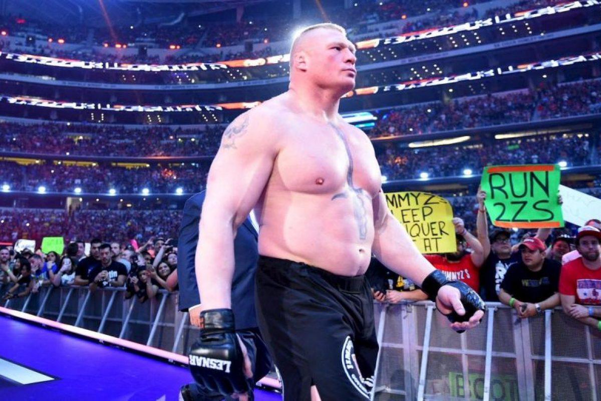Pelearán el próximo 21 de agosto Foto:WWE. Imagen Por: