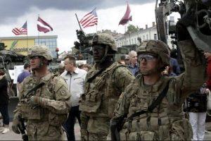 Tropas estadounidenses de la Otan en Letonia. Foto:Efe. Imagen Por: