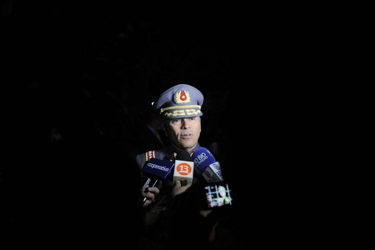 El general Humberto Oviedo habló del caso luego de una actividad oficial en Iquique. Foto:AgenciaUno. Imagen Por:
