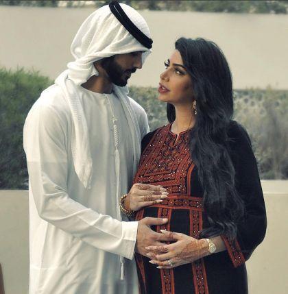 Omar y Yazmin en la dulce espera de su primer hijo.