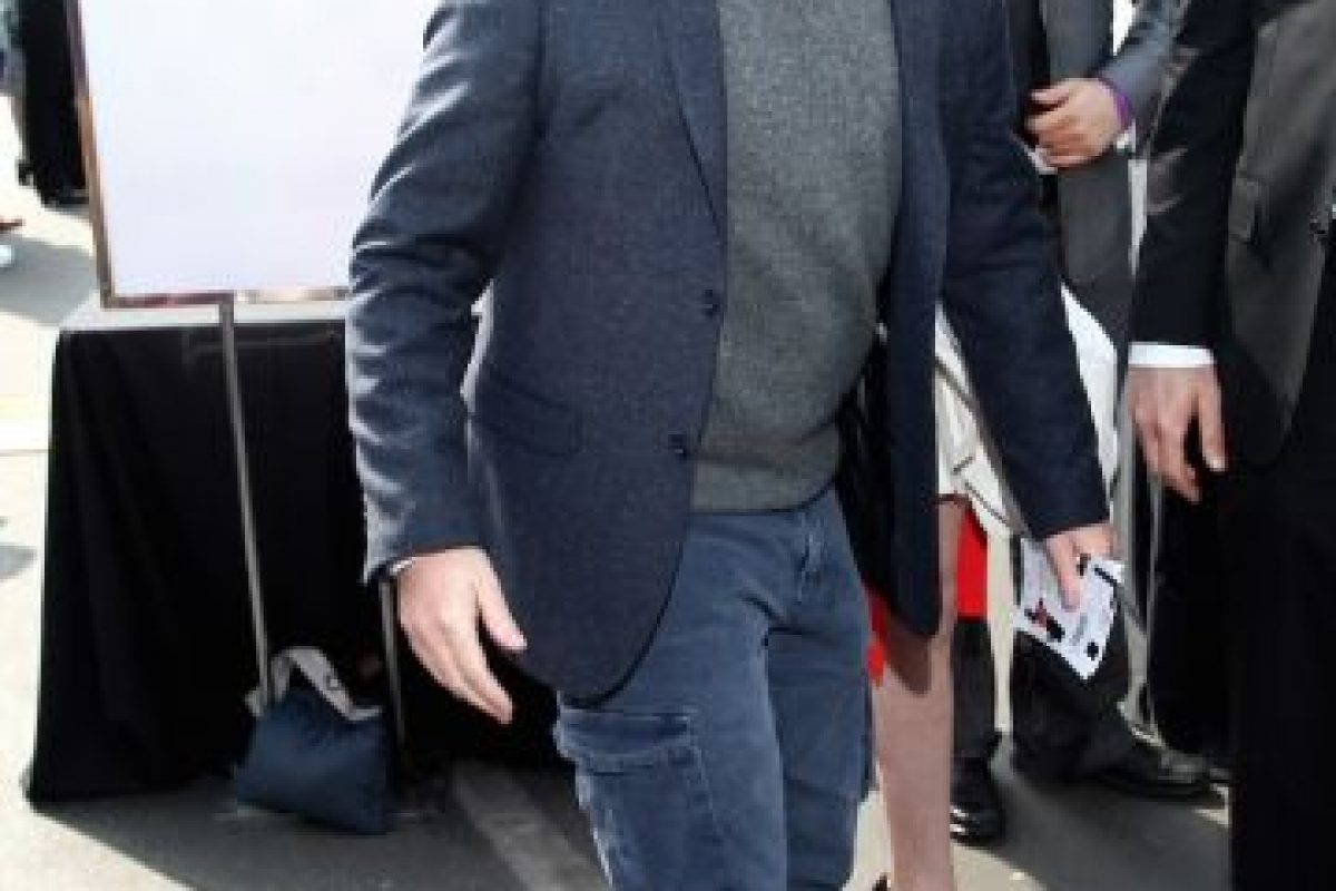 Ahora el actor luce así, luego de años de malos hábitos. Foto:Getty Images. Imagen Por: