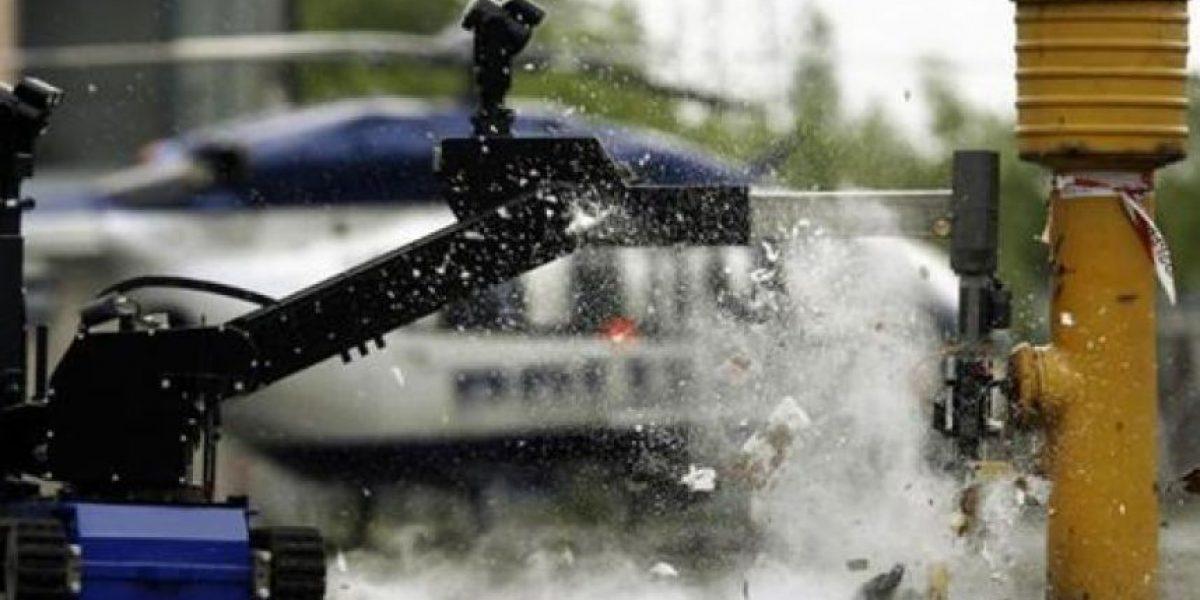 El robot que se utilizó para matar a asesino de policías en Dallas