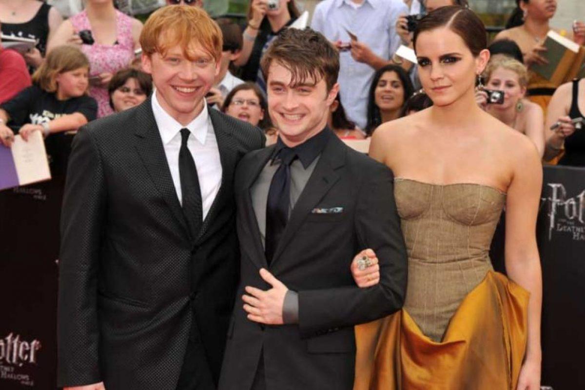 Los actores en 2001, durante la última premier de la saga Foto:Getty Images. Imagen Por: