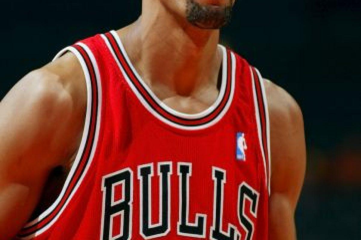 Scottie Pippen. El mejor aliado de Jordan jugó cuatro temporadas en Portland, aunque se retiró en 2004 con Bulls Foto:Getty Images. Imagen Por: