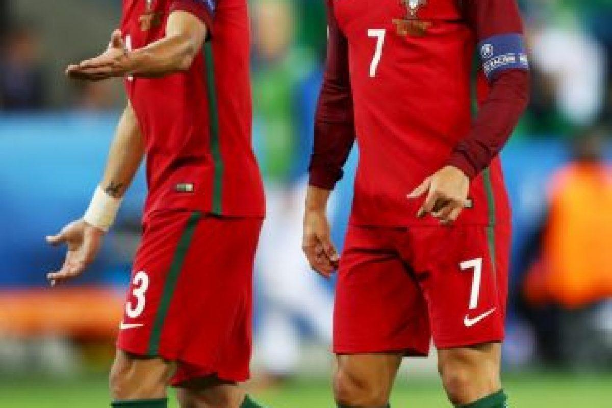 Pepe y Cristiano Ronaldo van por el título de la Eurocopa Foto:Getty Images. Imagen Por: