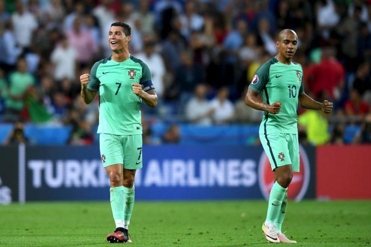 Pero Cristiano es el máximo goleador histórico de la Eurocopa Foto:Getty Images. Imagen Por: