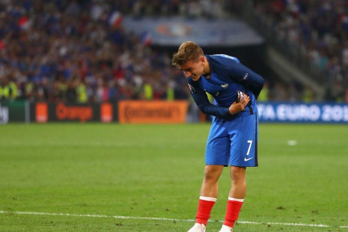 Antoine Griezmann fue la figura al convertir dos goles Foto:Getty Images. Imagen Por: