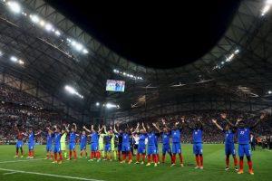 Francia pasó a la final de su Eurocopa y lo celebró con el grito que hizo famoso Islandia Foto:Getty Images. Imagen Por:
