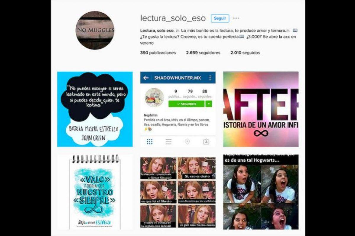 Nos recuerda que en las redes sociales hay varias cuentas que invitan a los usuarios a no olvidar los libros. Foto:Reproducción Instagram. Imagen Por: