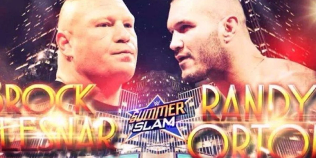 Brock Lesnar vs. Randy Orton, confirmados para SummerSlam