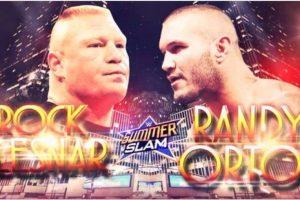 Brock Lesnar vs. Randy Orton, confirmado para SummerSlam Foto:WWE. Imagen Por:
