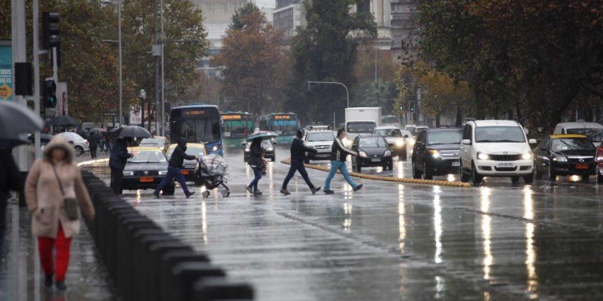 A partir de este domingo reaparecen las lluvias en la zona central del país