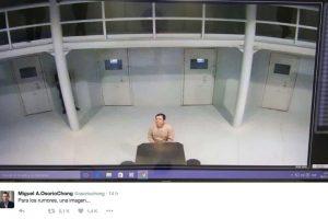 La fotografía difundida por el secretario de Gobernación Foto:Twitter.com/OsorioChong. Imagen Por:
