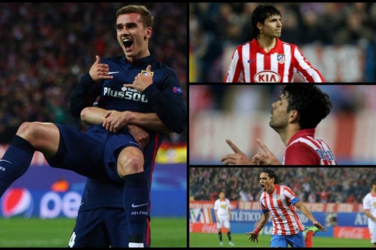 Los delanteros se Atlético de Madrid se han convertido en una mina de oro Foto:Gerty Images. Imagen Por: