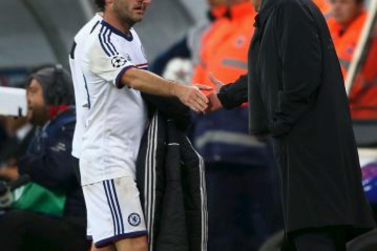 Cuando compartieron en Chelsea, el portugués lo vendió a Manchester United Foto:Getty Images. Imagen Por: