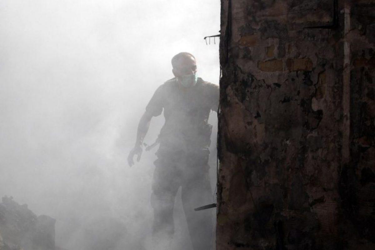 El atentado en el santuario chiita de Balad dejó 50 muertos Foto:AFP. Imagen Por: