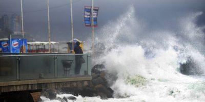 Armada advierte fuertes marejadas para las costas chilenas
