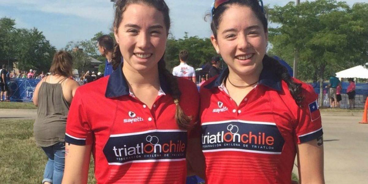 Chilenas tuvieron destacada actuación en el Panamericano de Triatlón