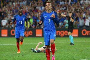 Francia cuenta con un Antoine Griezmann en estado de gracia Foto:Getty Images. Imagen Por: