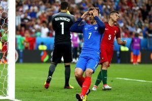 Francia poco pudo hacer ante Portugal en la final Foto:Getty Images. Imagen Por: