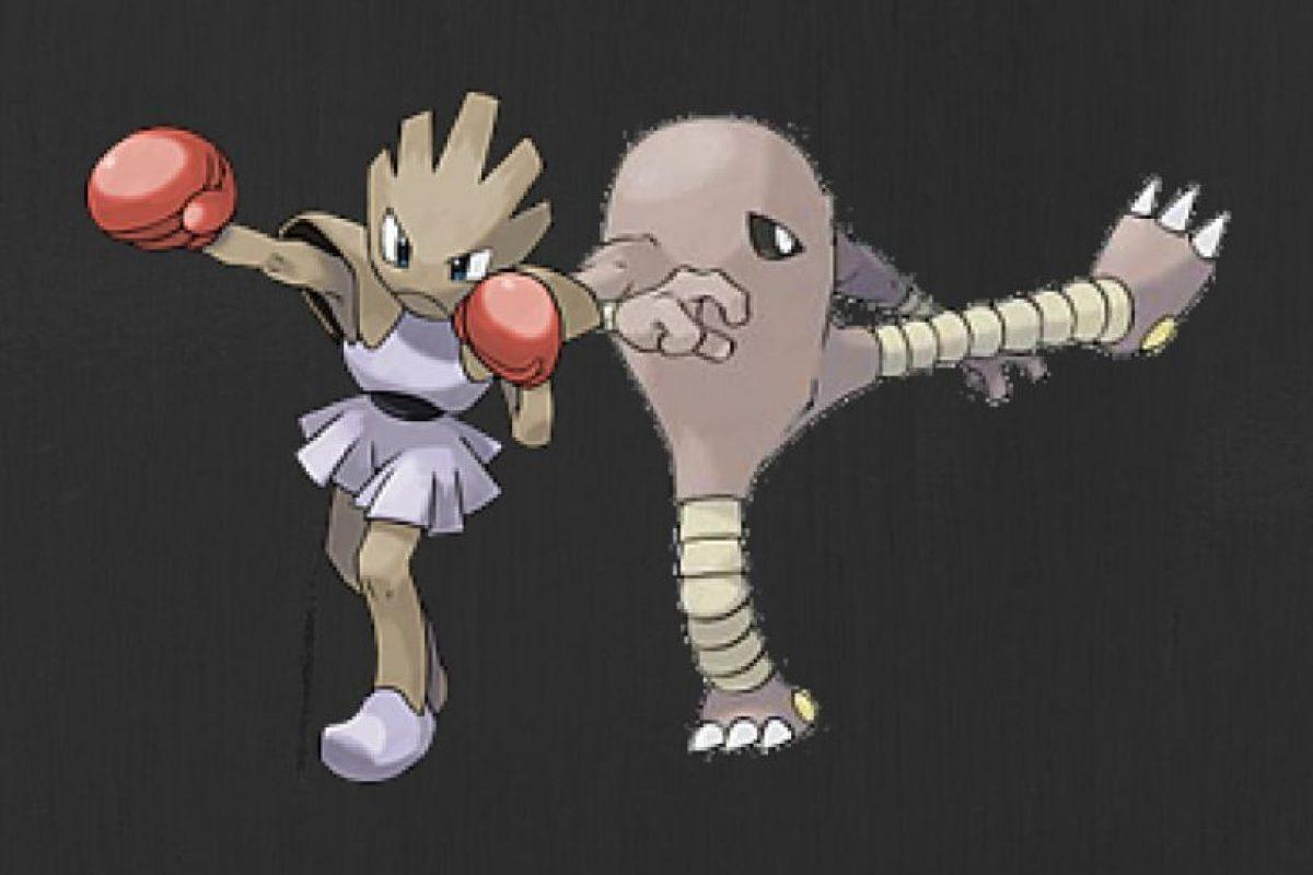 Hitmonlee e Hitmonchan Foto:Pokémon. Imagen Por: