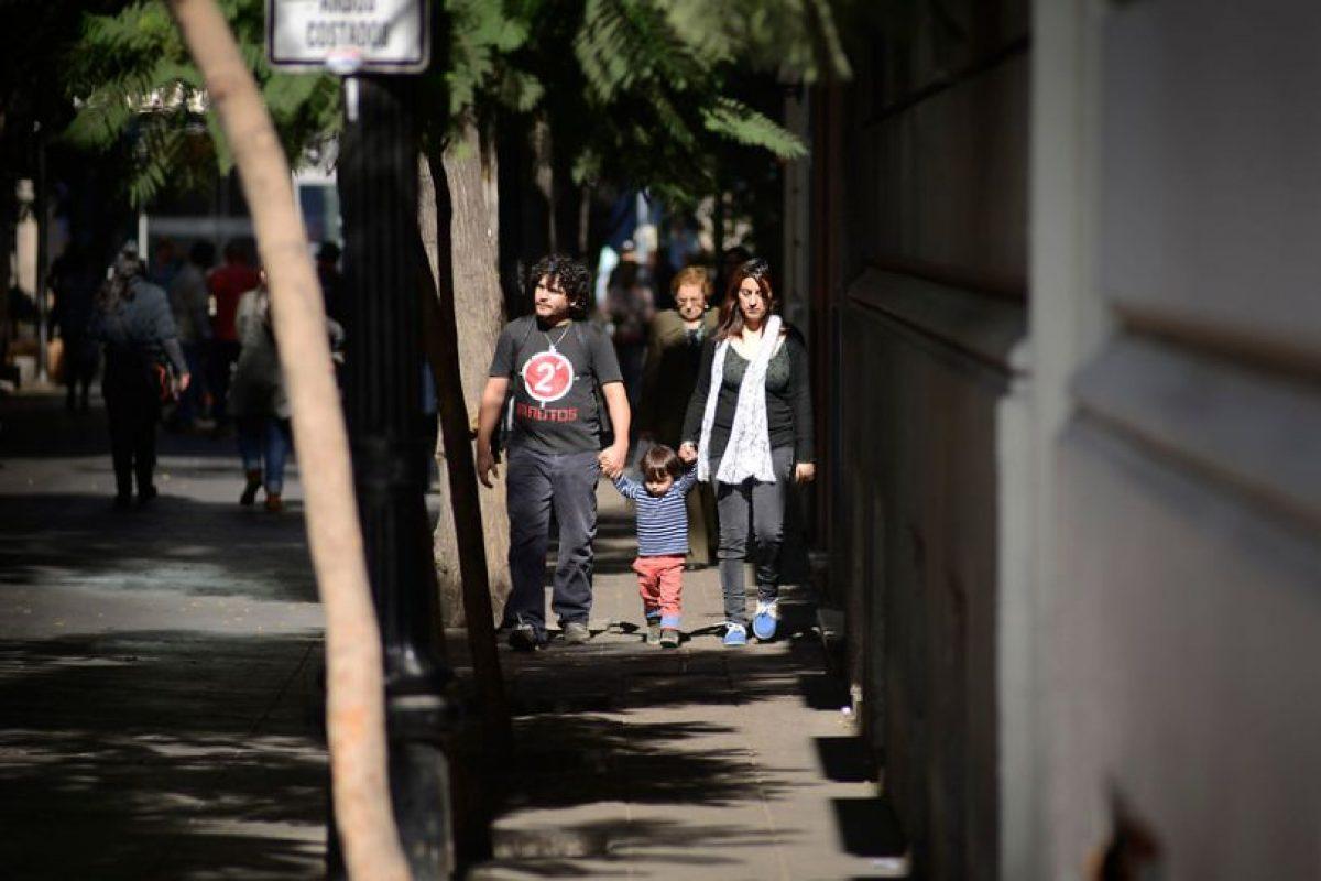 Barrio Lastarria Foto:Agencia UNO. Imagen Por:
