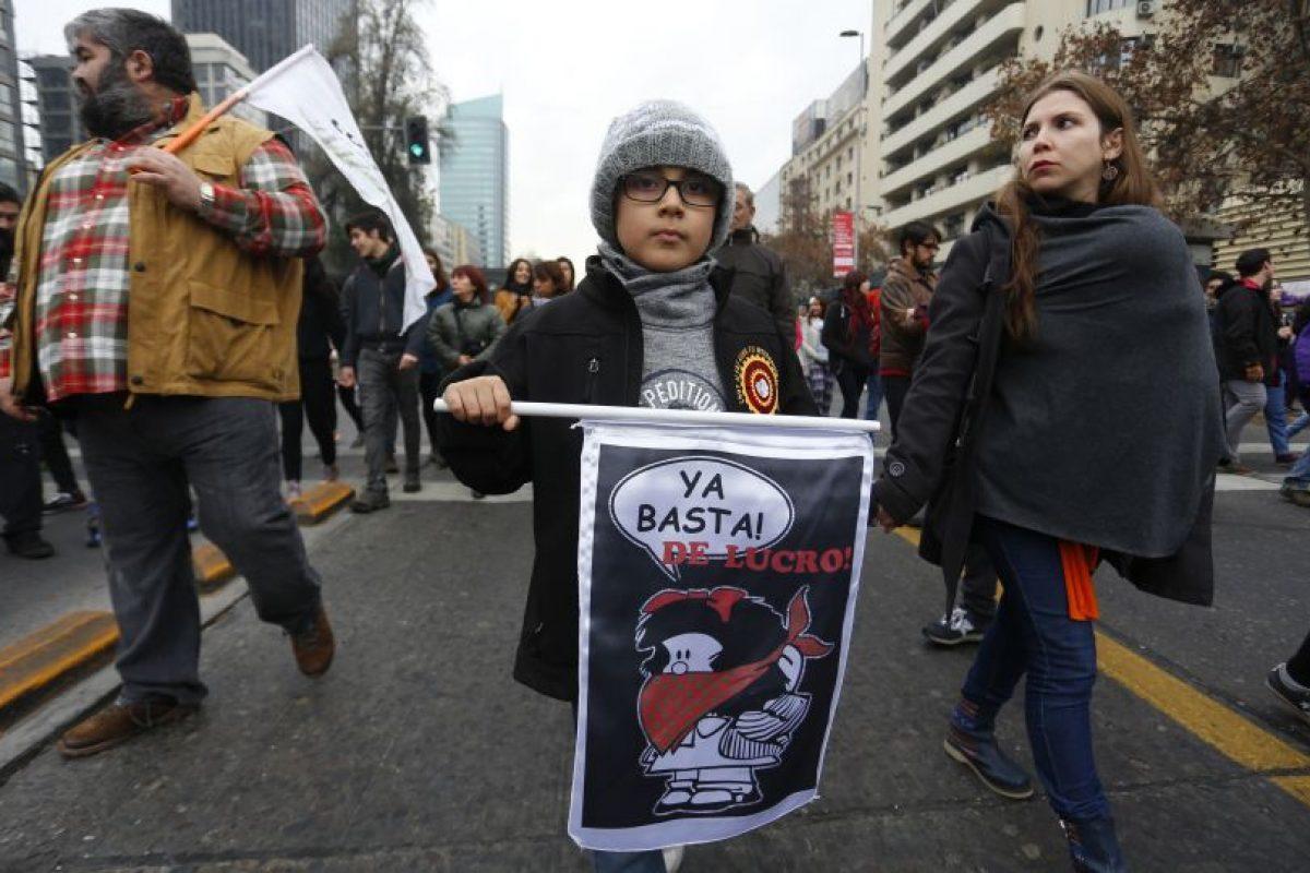 Marcha Familiar por la Educación Foto:Agencia Uno. Imagen Por: