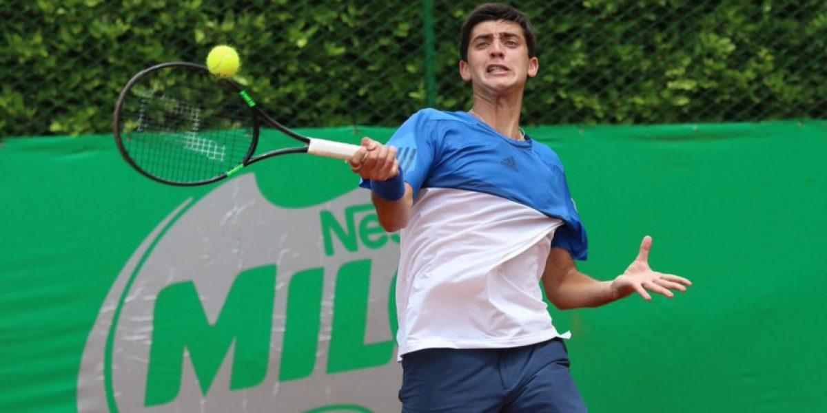 Notable alza: Tomás Barrios ascendió cien puestos en el ranking ATP